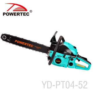 POWERTEC 2.2kw steel kraftdele gasoline chain saw 5200