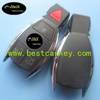 Hot Sale 3+1 button smart key case for key for mercedes benz benz key cover