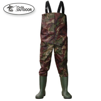 Camo Nylon PVC Fishing Wader
