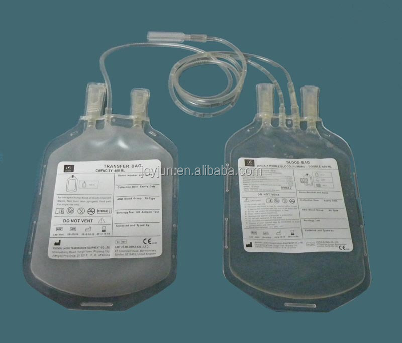 High Quality Double CPDA-1 Blood transfusion Bag