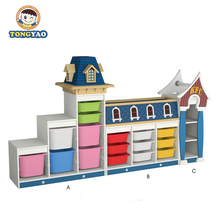 Luxury wooden kids cupboard furniture for sale