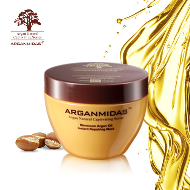 World best hair mask Instantly repair damaged hair cream type Argan oil hair mask