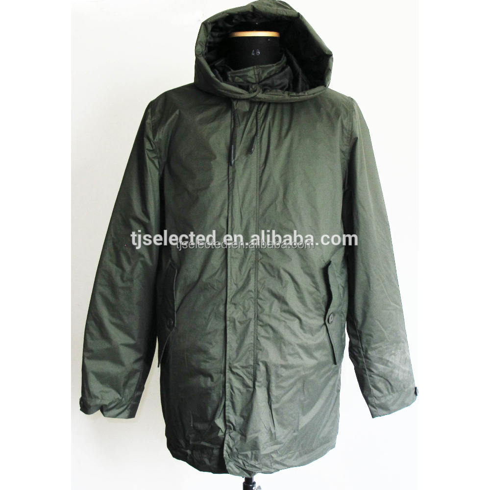 OEM Service means 100% nylon Men's heavy padded parka jacket