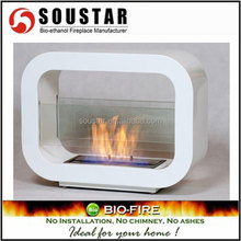 2016 indoor used free standing bio ethanol firepalce heater alcohol burner