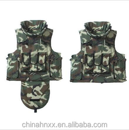 Digital Camouflage Woodland Bulletproof Vest Military Body Armor