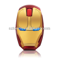 2014 mouse optical golden mouse 2.4G Wireless USB Optical Mouse from factory