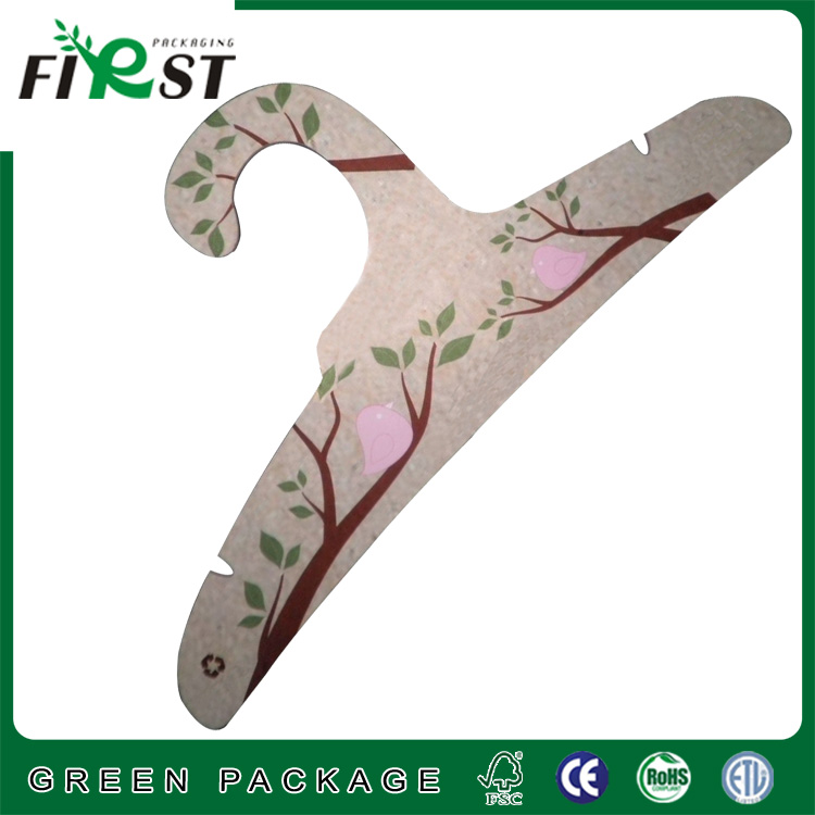 Custom cheap paper clothes hook hangers/Eco- Friendly Recycled Colorful Cardboard Hanger/Wholesale China