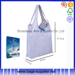 Personalized luxury nylon or polyester shopping bag
