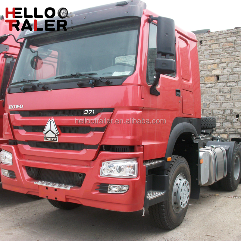 New Diesel Engine 6x4 Tractor Heavy Howo Truck for Sale