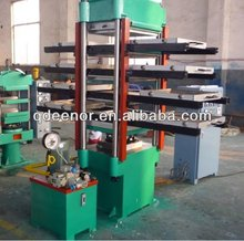 Electrical Heating Type Rubber Floor Vulcanizer / Floor Mat Making Machine