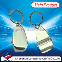 Fashion custom cool bottle opener keychains metal keychain bottle opener keyring