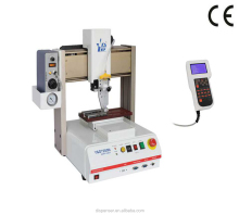 High Professional Full Automatic Epoxy Adhesive Robot Glue Dispenser With Container And Valve