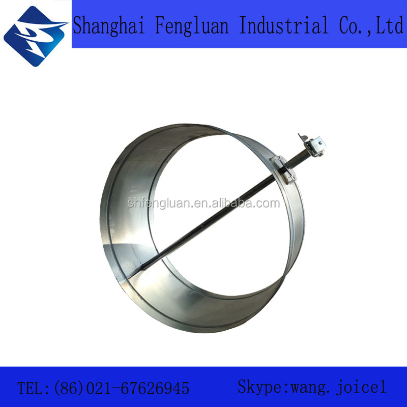 Ventilation Round Air Flow Volume Controller Damper for Air Conditioning Duct