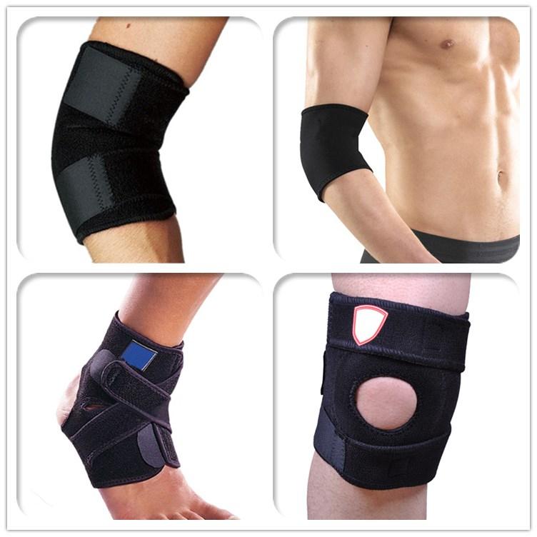 vendita calda ginocchio maniche neoprene tessuto di gomma foglio ingrosso Commercio all'ingrosso, produttore, produzione