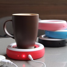 Free sample! LJW-032 2016 Hot battery powered coffee cup warmer
