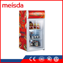Hot Sale SC80 B CE TUV counter top display refrigerator