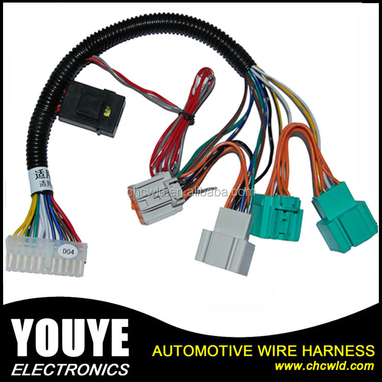 2016 Customized Auto Wire Harness for Car Alarm