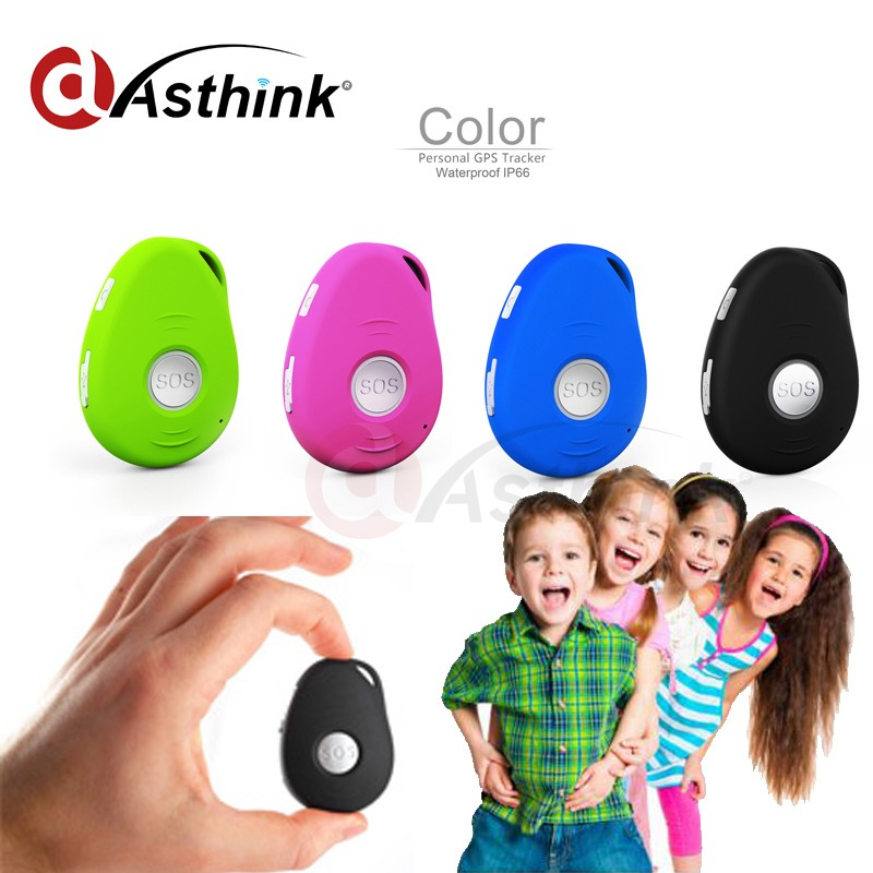 Support GPS GPRS SMS SOS Panic Alert Mini Portable Personal GPS Tracker Device for Kids Older Disable Pets