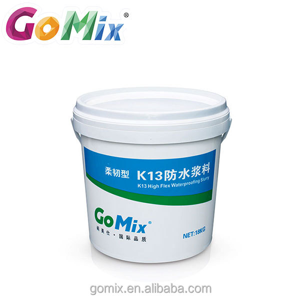 Acrylic modified cementitious repair high flexible waterproofing slurry