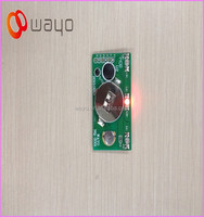 3 LED lights Red blinking led solar lights/light flasher unit
