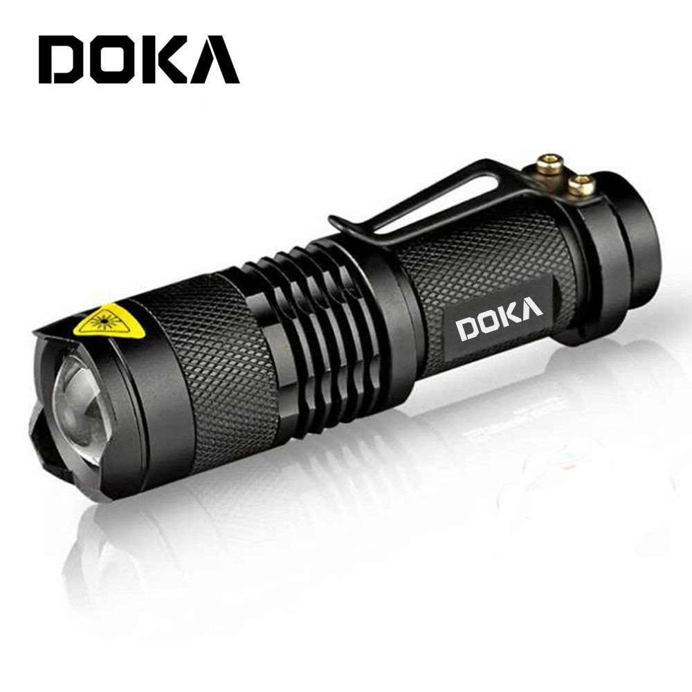 Best High Lumen Power Zoom Emergency Strong Light Fast Track Tractical Flashlight