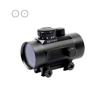 Wholesale gun accessories 1x40 ar15 telescopic camera pvs 14 riflescope 5 brightness red dot sight