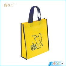 Recyclable Pp Non Woven Bag Zipper Shopping Tote Bags
