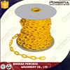 Cheap Yellow Clear Barricade High Quanlity 8mm Plastic Chain