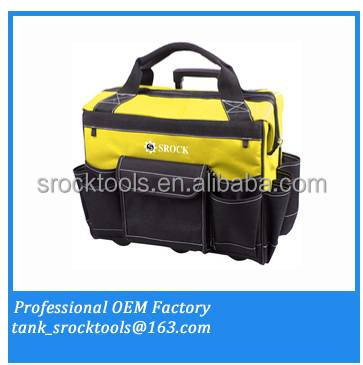 Professional polyester Rolling tool bag