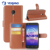 New product Leather slot wallet stand flip pouch Cover cell phone PU Skin Case for HTC U11 plus