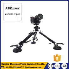 ASXMOV lightweight aluminum alloy telescopic mini camera tripod with suction mount for micro film shooting