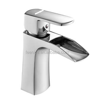 Feenice Solid brass waterfall wash basin mixer