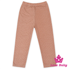 66TQZ461 Lovebaby Wholesale Children Printed Small Polka Dots For 0-96Years Gilrs Wear Long Pants Designs