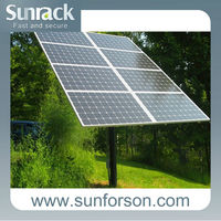 Green Energy Solar Mounting Pole Solar