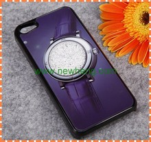 For iphone 5 clock crystal case