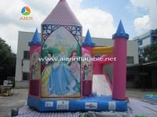 Lovely Girls' Pink Princess Theme Jumping Castles
