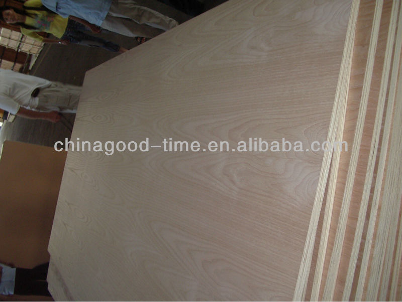 furniture grade birch faced poplar core plywood 10mm from manufactory in china