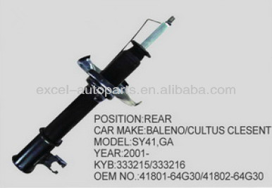 Rear Shock Absorber For BALENO/CULTUS CLESENT OE:41801-64G30/41802-64G30