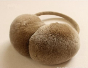 STABILE Custom girl earmuffs high-grade cold winter rex rabbit fur warm earcap