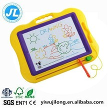 Big color magnetic Painting and writing cartoon shape white board learning gift for children