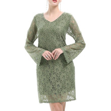 Best Price Fashion Design Women Sexy Lace Dress Direct Factory