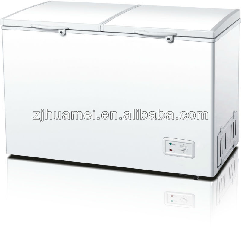 double door chest freezer 350L