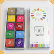 Wholesales Colorful Mini Craft Stamp Ink Pad, Eco-friendly Ink Stamp Pad
