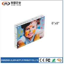 6x8 Acrylic Magnetic Rectangle Picture Photo Frame