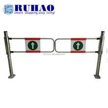 Supplier of RH-JC02 Supermarket Safety Equipment Entrance & Exit Door Stainless Steel