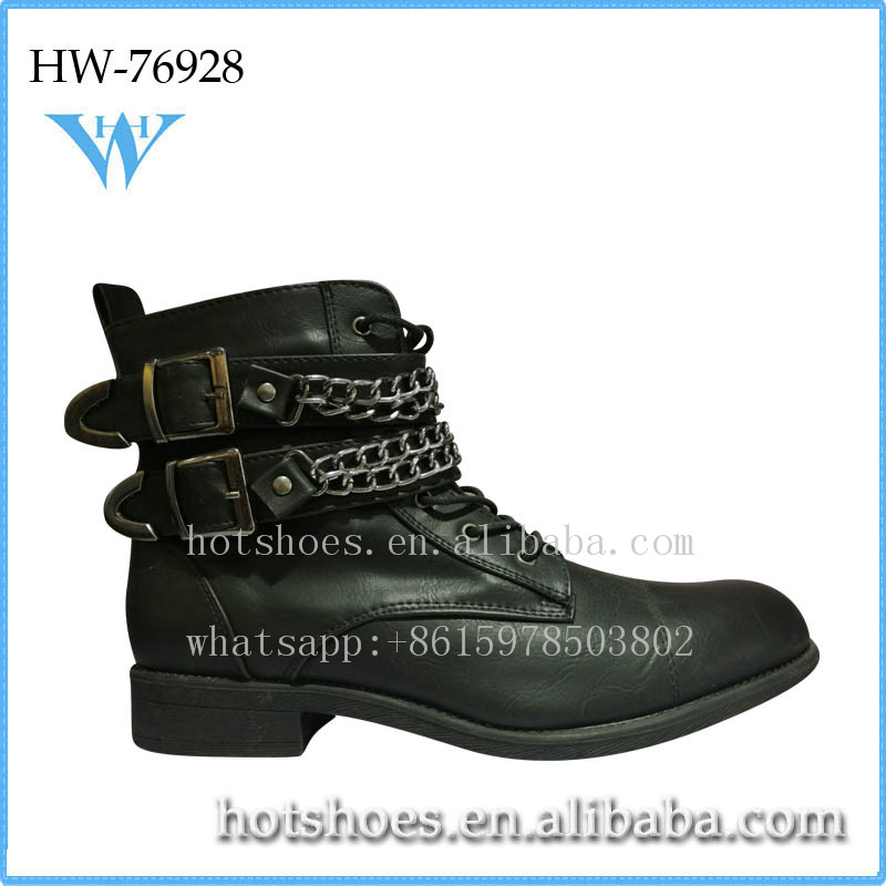 wholesale fake designer shoes stylish men women boots with rivet buckle strap work shoe wellies for unisex popular boots shoes