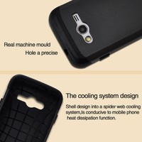 Smart Phone Waterproof Anti-shock Slim Armor Case for Samsung Galaxy G313 2 in 1