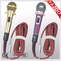 YAZOO hot sale cheap KS-88A professional wired microphone for karaoke system