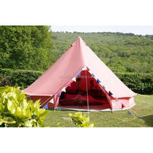 100% cotton canvas colorful extra large camping tents
