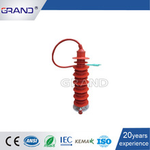 Grand 35KV HY10W 35KV Types of Housed Lightning Surge Thunder Arrester